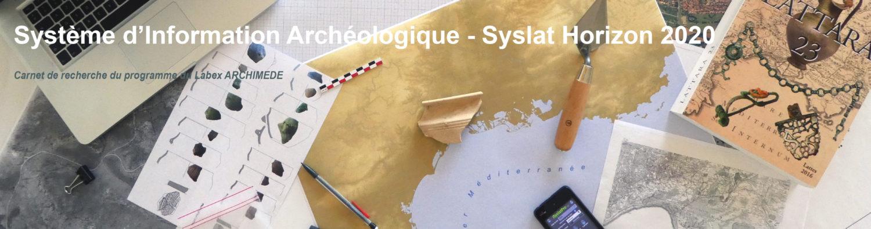 Système d'Information Archéologique - Syslat Horizon 2020