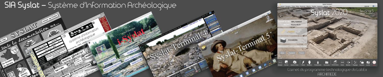 Système d'Information Archéologique - SIA Syslat